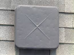 Hail Damaged Roof Vent